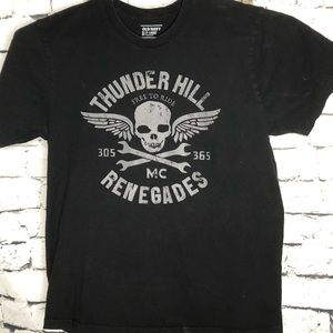 Old Navy skull graphic renegades t-shirt xl